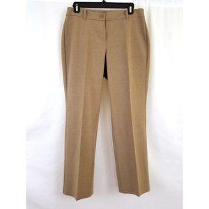 3/$25 Talbots Size 4P Curvy Tan Dress Pants Slacks
